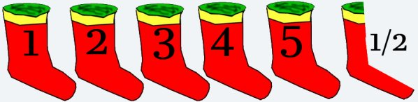 Five and a half socks